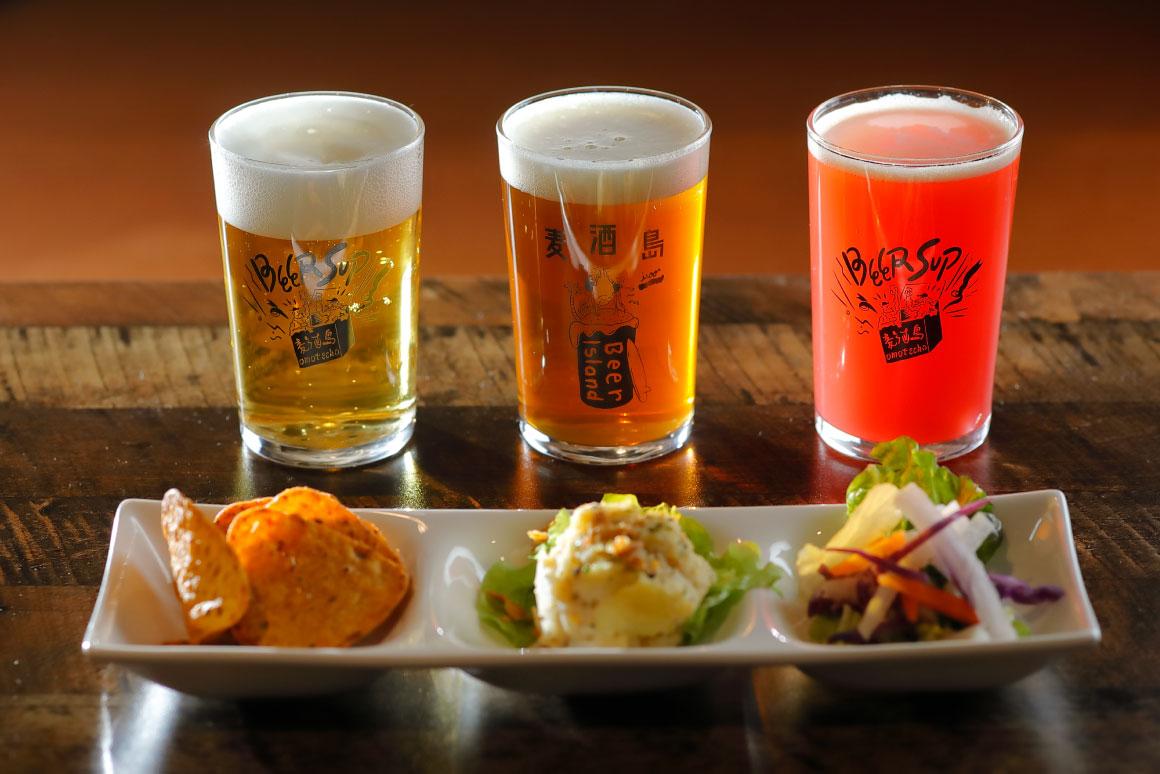 ビアソムリエが厳選したクラフトビールやフードを堪能