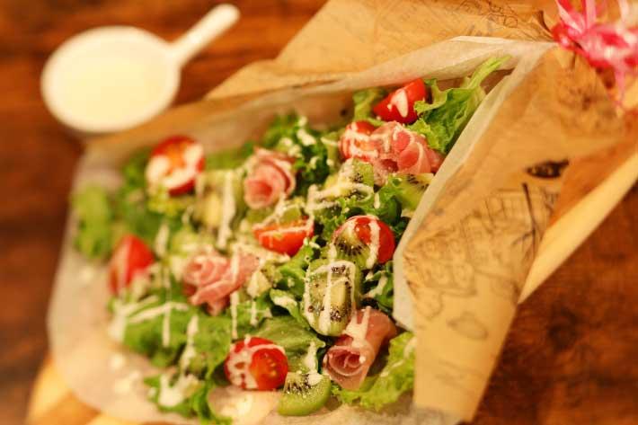 岡山野菜のシーザーサラダ